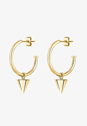 LIEBESKIND CREOLE CONE  - Earrings - gold-coloured
