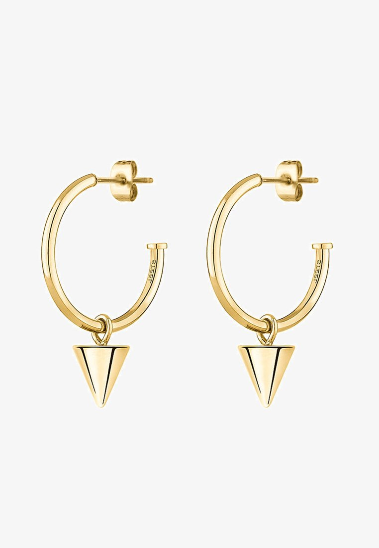 Liebeskind Berlin - LIEBESKIND CREOLE CONE  - Earrings - gold-coloured