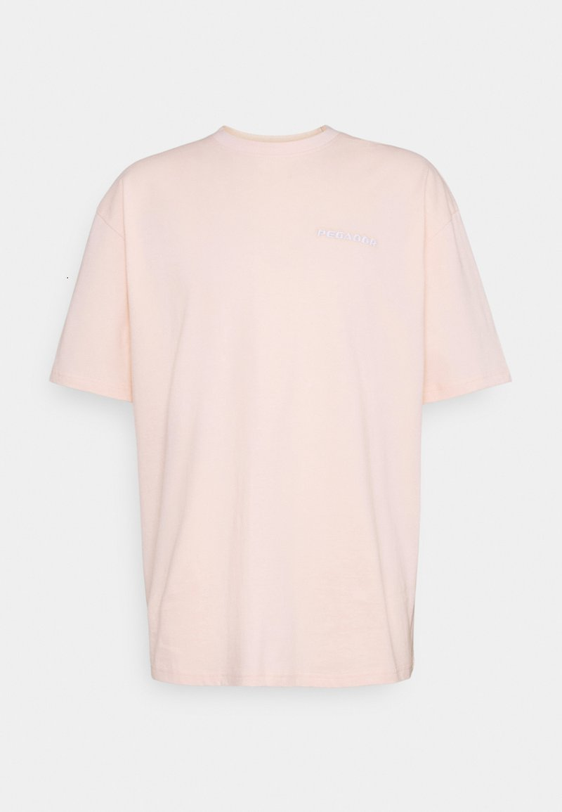 Pegador - LOGO OVERSIZED TEE UNISEX - T-shirt basic - peach
