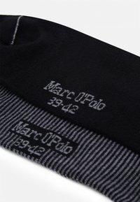 Marc O'Polo - SOCKS 4 PACK - Socks - black - 1