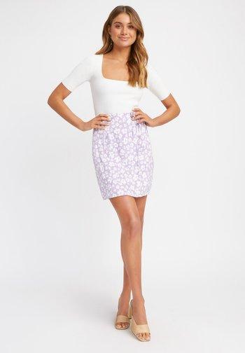 A-line skirt - ij lilas