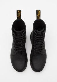 Dr. Martens - COMBS - Šněrovací kotníkové boty - black - 3