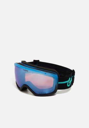 RINGO - Ski goggles - blue neon lights/vivid roy