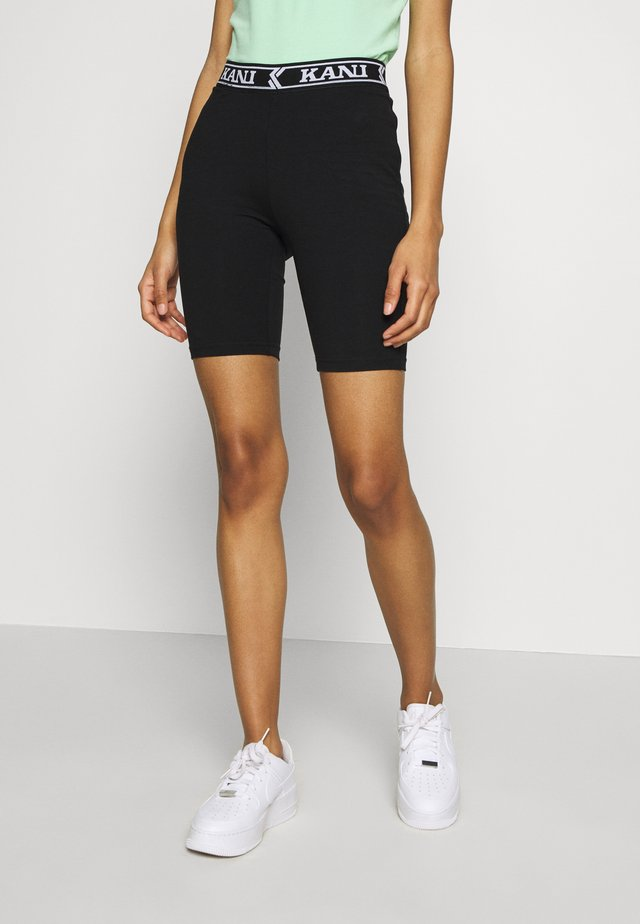 COLLEGE CYCLING - Shorts - black/white