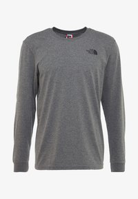 The North Face - SIMPLE DOME - Top s dlouhým rukávem - medium grey heather - 4