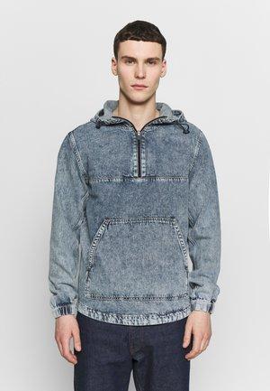 JJANORAK - Denim jacket - blue denim