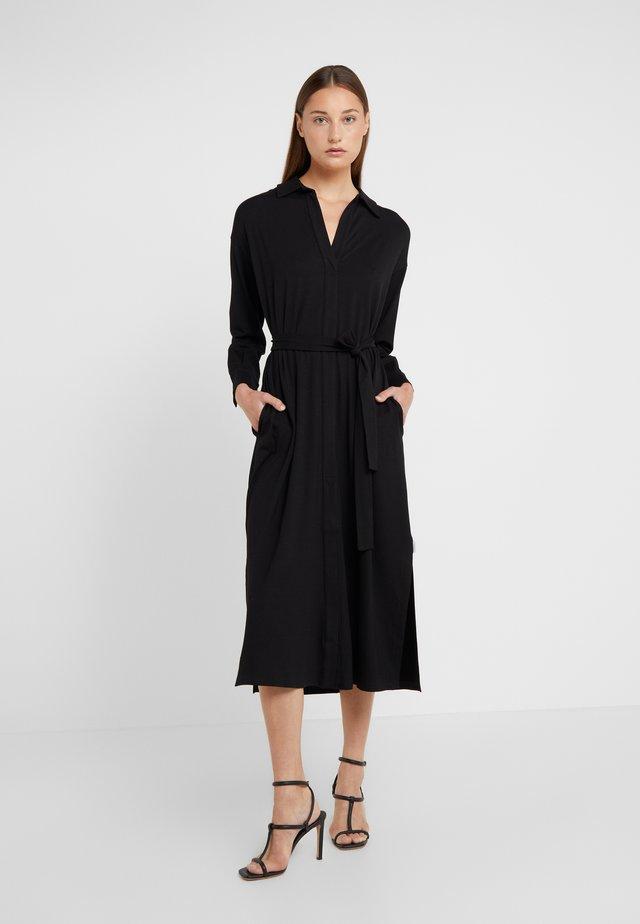 OZIERI - Vestito di maglina - black