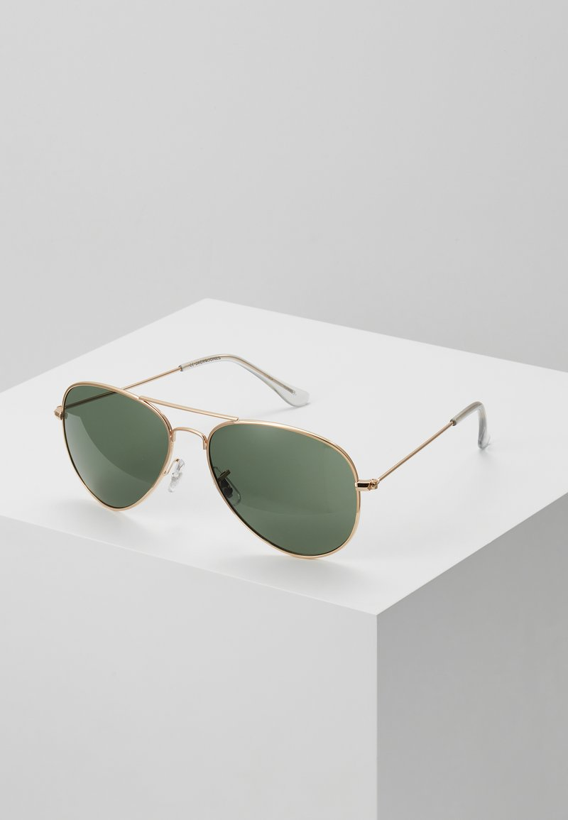 Jack & Jones - JACMAVERICK SUNGLASSES - Sunglasses - bright gold-coloured