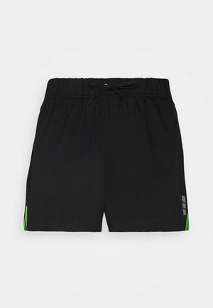 SWIM WOMEN HIGH WAIST - Swimming shorts - black