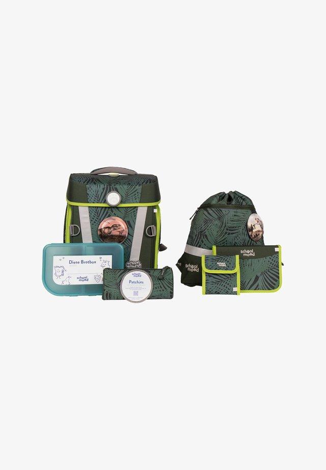 SET - Schooltas set - green