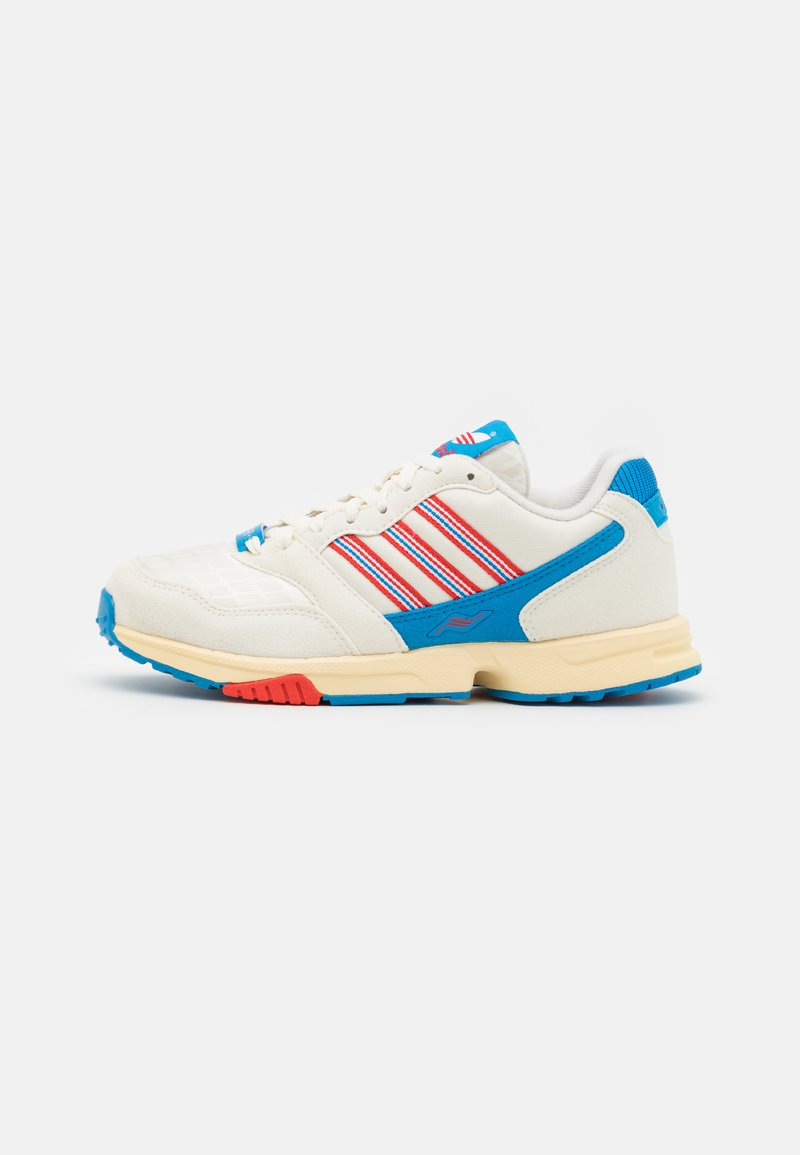 adidas Originals - ZX 1000 C UNISEX - Tenisky - offwhite/active red/bright blue