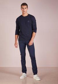 BOSS - TACKS - Long sleeved top - dark blue - 1