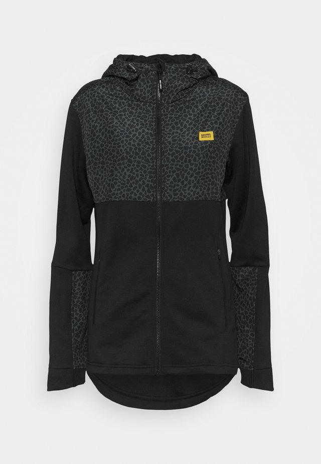DECADE TECH MID HOODY  - Fleece jacket - wild thing