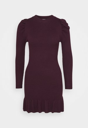 JUMPER DRESS - Jumper dress - fig