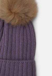 Huttelihut - WARMY FOLD UP POMPOM - Čepice - purple - 2