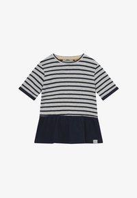 Ebbe - BENITA - T-shirt con stampa - offwhite/dark navy - 2