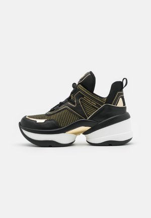 OLYMPIA TRAINER - Joggesko - black/gold