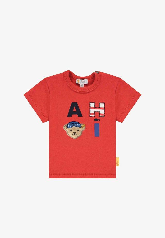 AHOI - T-shirt print - true red