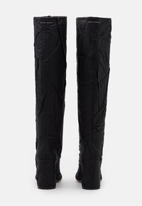 MM6 Maison Margiela - CRUSHED STIVALE TUBO STROPICCIATO - High heeled boots - black - 3