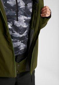PYUA - VOID - Snowboard jacket - rifle green - 7