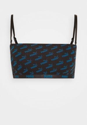 BANDEAU TOP HANG - Bustier - blue/black