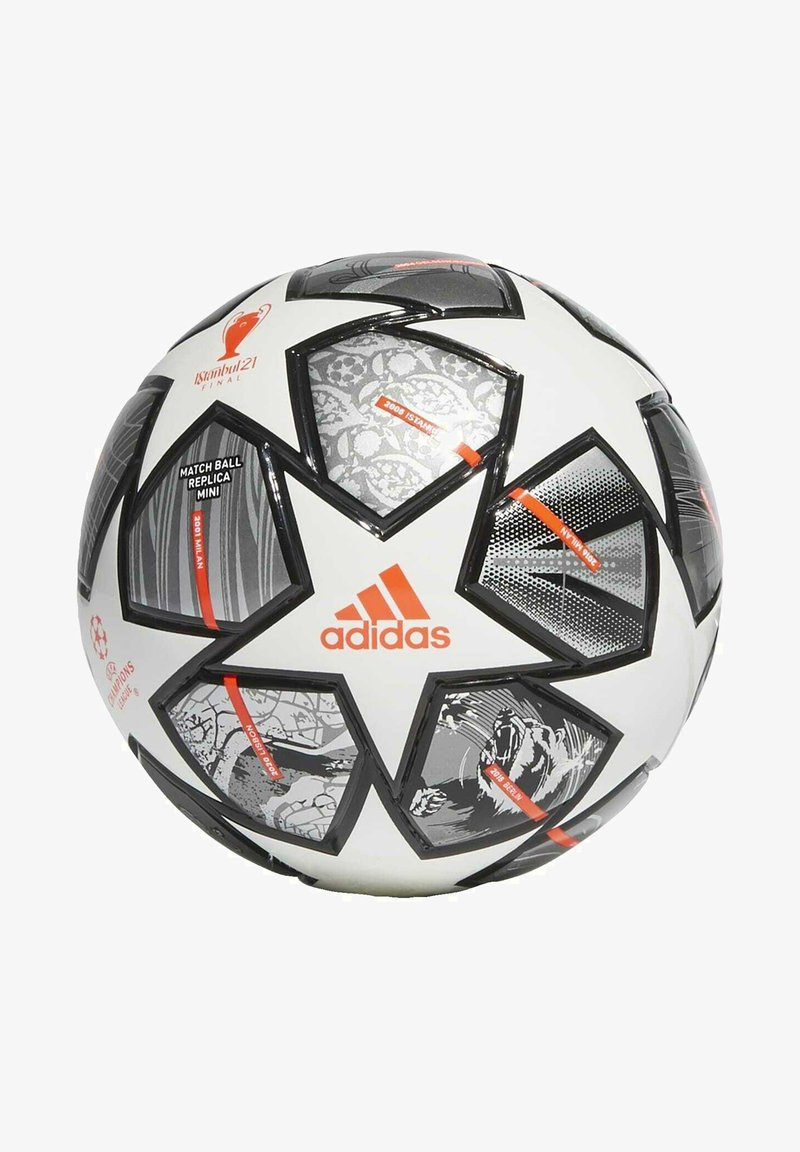 adidas Performance - FINALE 21 20TH ANNIVERSARY UCL MINI FOOTBALL - Voetbal - white