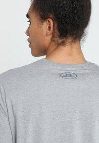 Under Armour - Camiseta estampada - steel light heather/black - 3