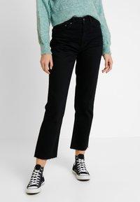 Topshop - Jeans Straight Leg - black - 0