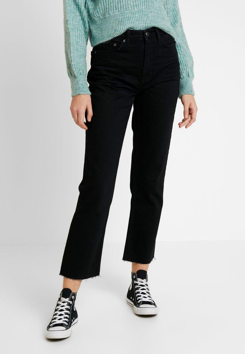 Topshop - Jeans Straight Leg - black