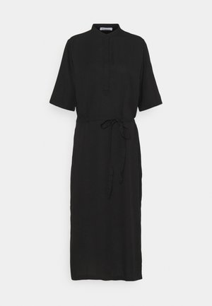 ORCHID DRESS VEGAN - Shirt dress - black jet