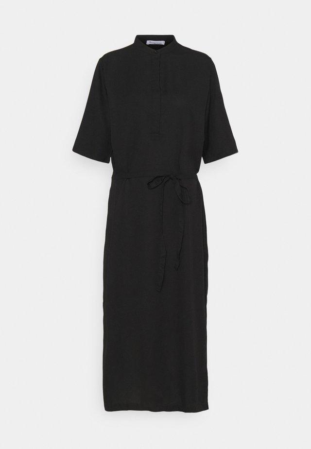 ORCHID DRESS VEGAN - Blousejurk - black jet