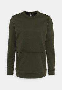CREW STANDARD FIT - Sweatshirt - sequoia/black