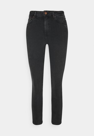 MIDRISE SUPER - Jeans Skinny Fit - black