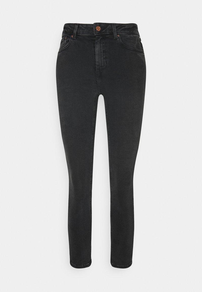 New Look Petite - MIDRISE SUPER - Skinny džíny - black