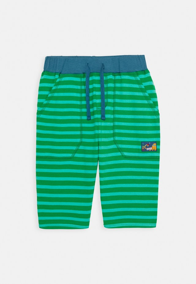 STRIPY  - Pantalon de survêtement - ribbit green