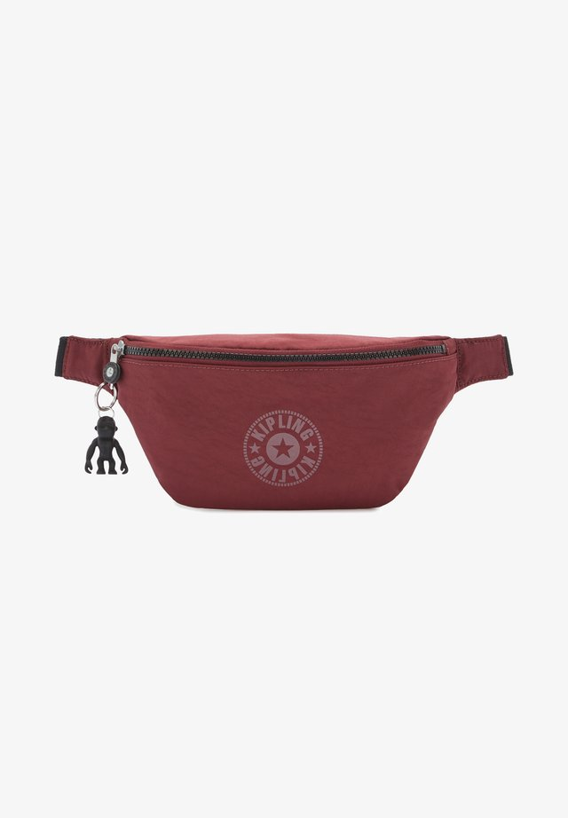 FRESH - Bum bag - maroon black