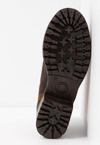 Lazamani - Ankle Boot - brown/orange - 6
