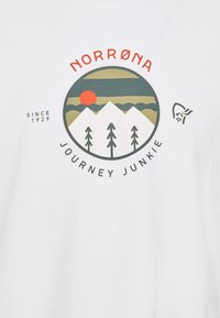 Norrøna - JOURNEY  - T-shirt print - pure white - 2