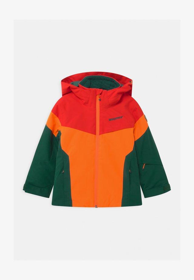 ATLA JUN - Snowboardová bunda - spruce green