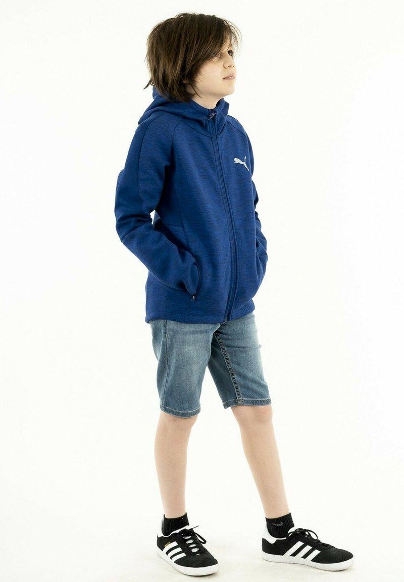 Puma - Zip-up hoodie - bleu