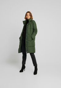 JDY - Classic coat - rifle green - 1