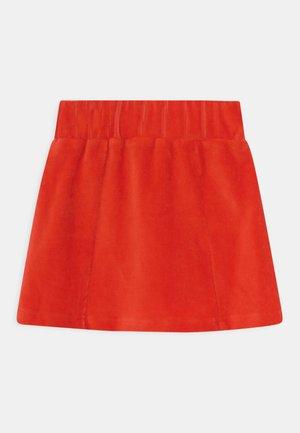 SMALL GIRLS - Mini skirt - fiery red