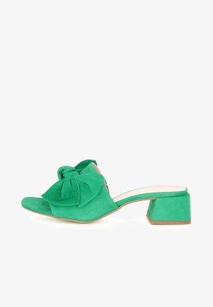 Mules - green