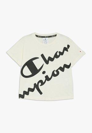 AMERICAN CLASSICS CREWNECK  - Print T-shirt - off white