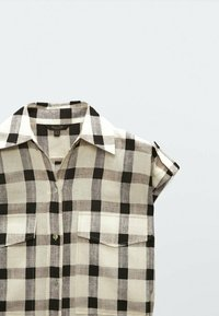 Massimo Dutti - Shirt dress - beige - 2