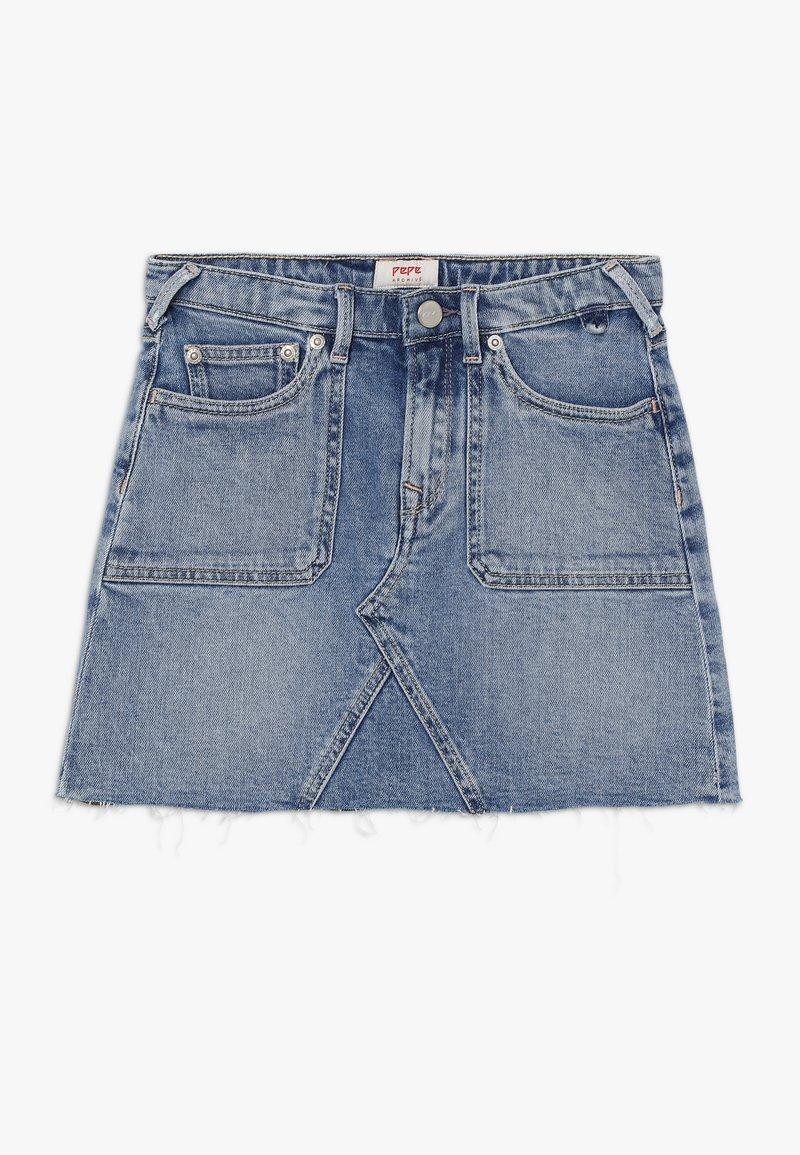 Pepe Jeans - MILLIE WORKER - Denimová sukně - denim