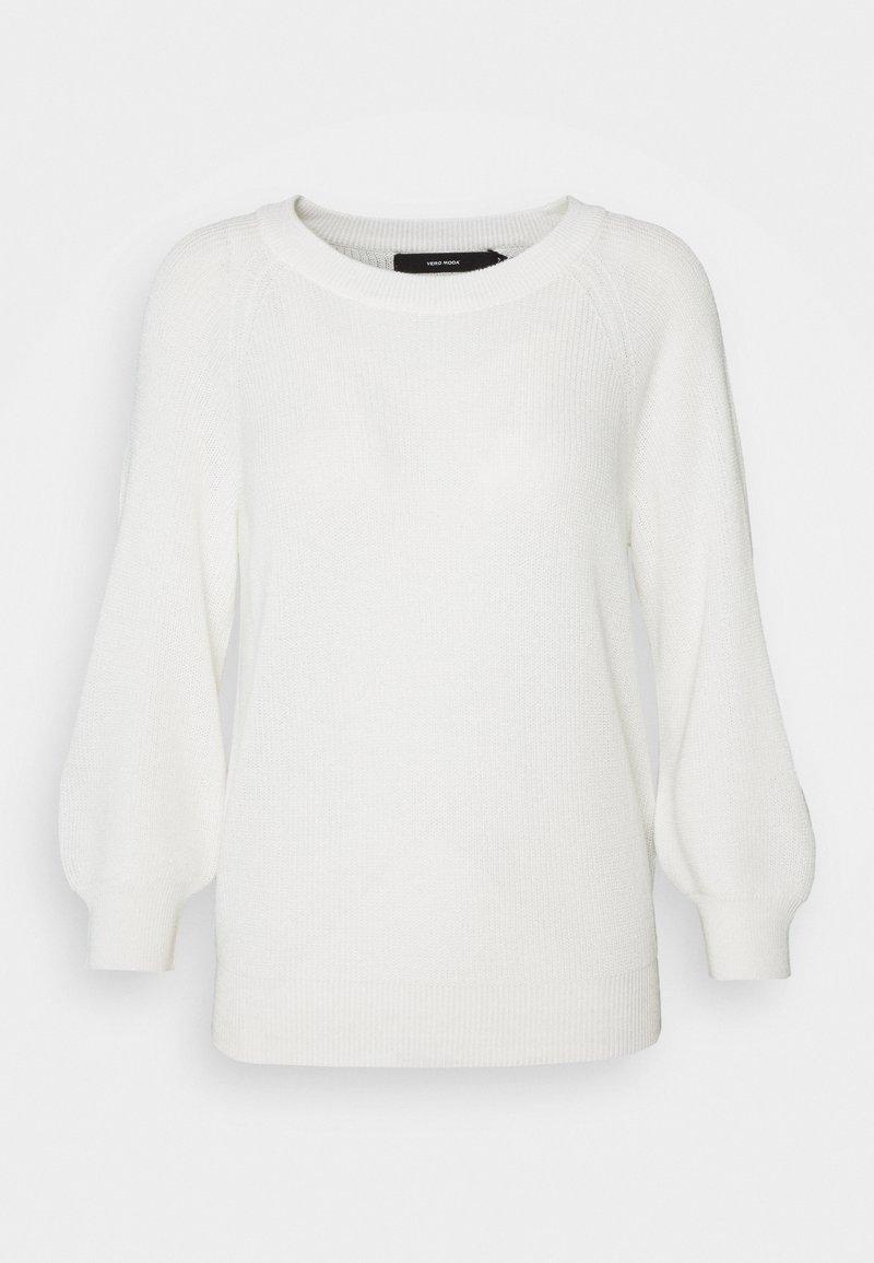 Vero Moda - VMNEWLEX SUN - Stickad tröja - snow white