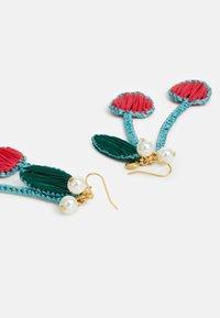 J.CREW - CHERRY EARRING - Náušnice - crisp begonia - 1