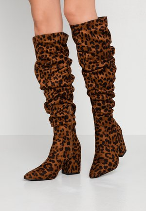 ANSLEY - Stiefel - tan