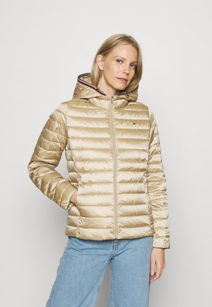 SEMI SHINE JACKET - Down jacket - beige